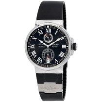 Ulysse Nardin Marine Chronometer Automatic Black Dial Black...
