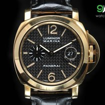 Panerai Pam 140 Luminor Marina Yellow Gold 44mm