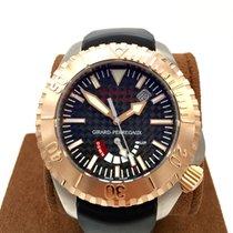 Girard Perregaux SEA HAWK Pro II Rose Gold Bezel And Crown