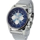 Breitling Transocean Chronograph Unitime in Steel