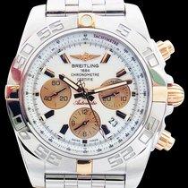 Breitling Chronomat 44 en or rose et acier neuve