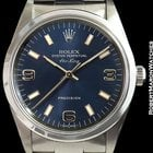 Rolex Air King 14000 Steel Automatic Blue Dial