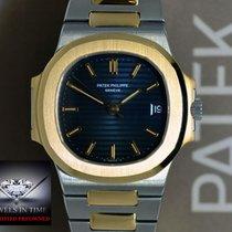 Patek Philippe Nautilus 18k Gold & Steel Automatic Mens...