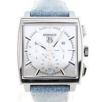 TAG Heuer Monaco 38 Chronograph Denim