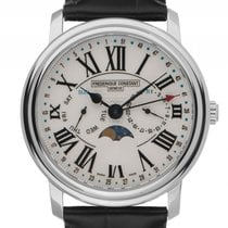 Frederique Constant Classics Business Timer Stahl Quarz...