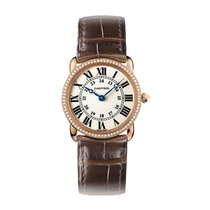 Cartier Ronde Quartz Ladies Watch Ref WR000351