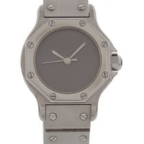 Cartier Ladies Cartier Santos Automatic Stainless Steel