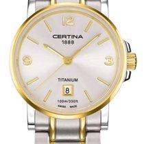 Certina DS Caimano Lady Damenuhr Titanium C017.210.55.037.00