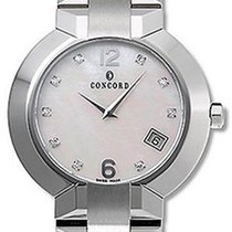 Concord La Scala Stainless Steel Mens Luxury Dress Watch...
