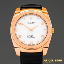 Rolex Cellini Cestello 18K Rose gold 36mm Box&Papers Ful...
