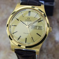 Omega Geneve Cal 1020 Swiss Made Automatic Gold Plated 1970s...
