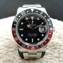 Rolex GMT MASTER 2 16710 Coke Red/Black Bezel