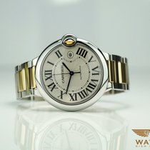 Cartier Ballon Bleu Ref: 3001 Stah / Gold 42mm