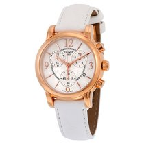 Tissot Dressport Mother of Pearl Dial Ladies Watch T0502173711700