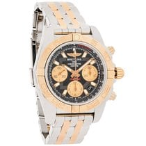 Breitling Chronomat 41 Mens 18K Links Automatic Watch CB014012...