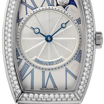 Breguet 8861BB/11/BB0D000 Heritage Phases de Lune in White...