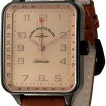 Zeno-Watch Basel Square Spezial Pointer Date Black