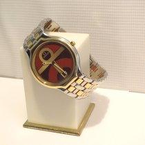 Omega De Ville Symbol Ankh Cross Goud/Staal