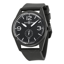 Bell & Ross Aviation Original Carbon Black Dial Black...