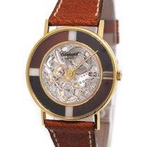 萧邦  (Chopard) 18K Gold Skeletonised Wristwatch, Onxy x Tigereye