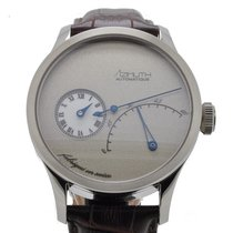 Azimuth Regulateur Retrograde Minutes Frost Grey –