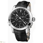 Ulysse Nardin Perpetual Manufacture Platinum Black Men`s Watch
