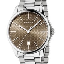 Gucci G-TIMELESS  BROWN DIAL LARGE SLIM