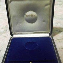 Eberhard & Co. vintage box pocket watch blu leather