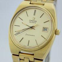 Omega Seamaster Kaliber 1360 vergoldet von 1979 Box und Papiere