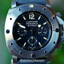 Panerai PAM 202 Slytech Submersible Titanium Chronograph...