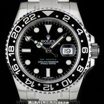 Rolex Stainless Steel O/P Ceramic Bezel GMT-Master II NOS...