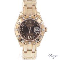 Rolex Datejust Lady Pearlmaster Everose/ Diamonds NEW