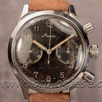 Minerva Hartmann Berlin Spilmann Case Military Chronograph...