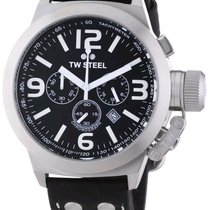 TW Steel Canteen 45MM Black Dial Chronograph TW6R