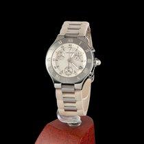 Cartier 21 Chronoscaph Steel Quartz