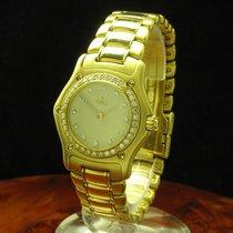 Ebel 1911 18kt 750 Gold Damenuhr Mit Brillant Besatz / Ref...
