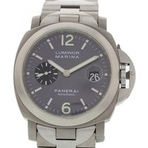 Panerai Men's  Luminor Marina Titanium PAM91/OP6558