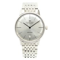 Hamilton Timeless Classic O-thin Stainless Steel Silver...