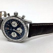 Sinn 903 St Navigationschronograph blau Lederband mokka Occasion