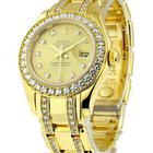 Rolex Used Masterpiece Pearlmaster Lady''s Yellow Gold