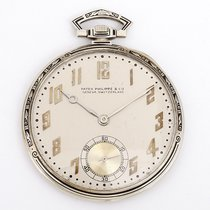 Patek Philippe Vintage  Pocket Watch Art Deco Enamel Design