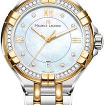 Maurice Lacroix Aikon 36 Diamanten Damenuhr AI1006-DY503-171-1