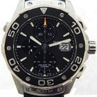 TAG Heuer stainless steel Aquaracer Chronograph
