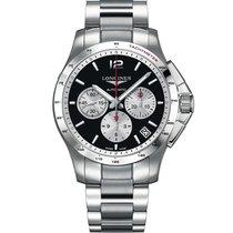 Longines Men's L36974966 Conquest Chronograph Watch