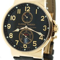 Ulysse Nardin Maxi Marine Chronometer 18K Rose Gold Watch...