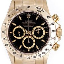 Rolex Cosmograph Zenith Daytona yellow gold 18k
