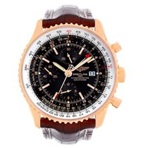 Breitling Navitimer World 18k Rose Gold Limited Edition Watch...