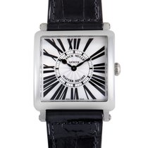 Franck Muller Master Square Mens Stainless Steel Watch 6002 M...