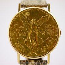 Vacheron Constantin 18K GOLD FIFTY PESOS COIN WATCH with...