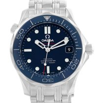 Omega Seamaster Midsize Co-axial Blue Dial Watch 212.30.36.20....